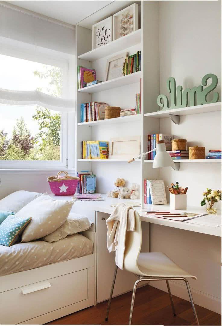 Dormitorios Juveniles Peque Os 40 Fotos E Ideas Decora Ideas ~ Decoracion Habitacion Juvenil Pequeña