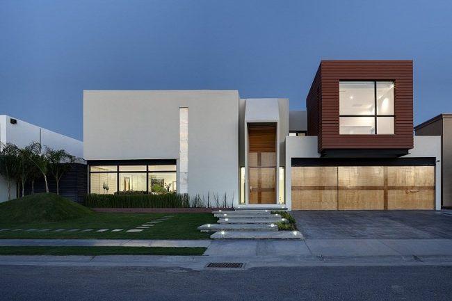 casas minimalistas fotos de interiores y fachadas On exteriores de casas minimalistas