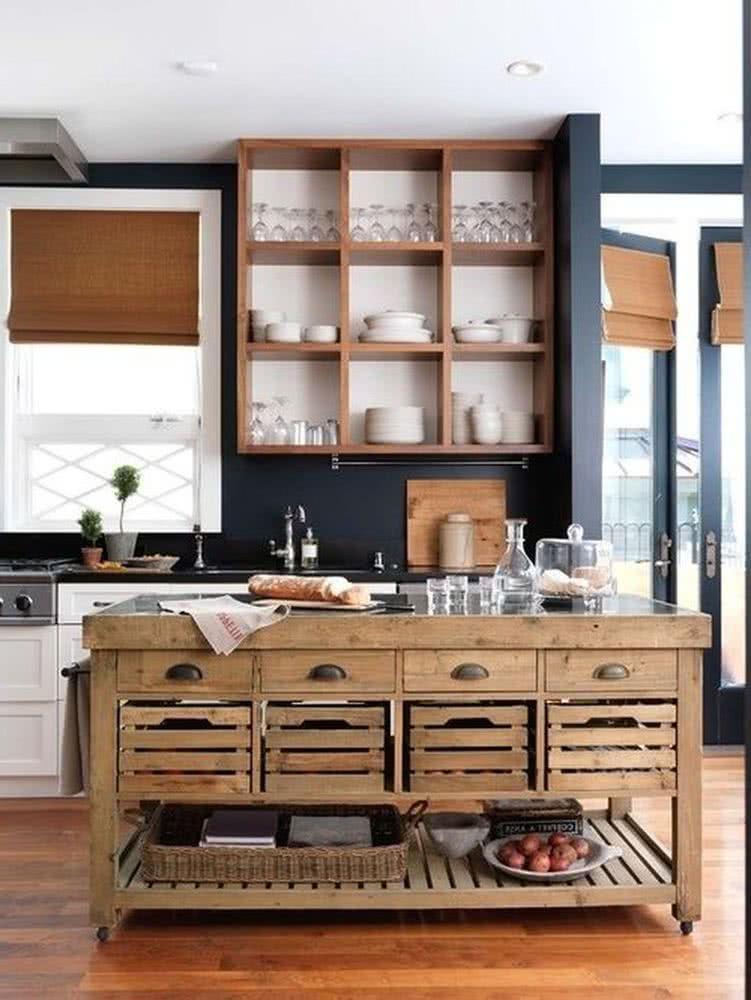 Muebles De Madera Para Cocina Disenos Rusticos Modernos Y Mas