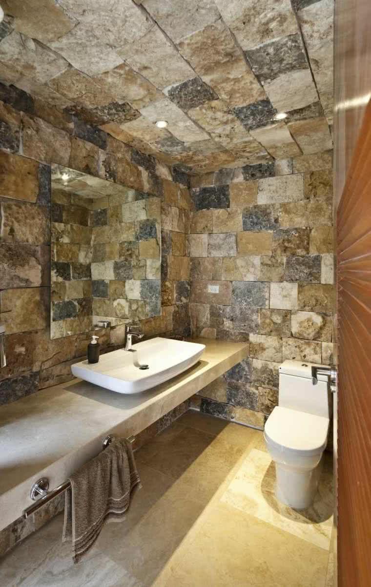 Baños rústicos – ideas de decoración y diseño – ÐecoraIdeas