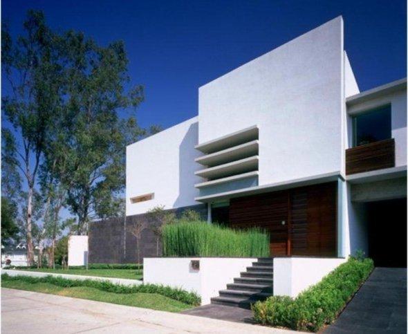 Casas minimalistas fotos de interiores y fachadas for Fachadas de casas interiores