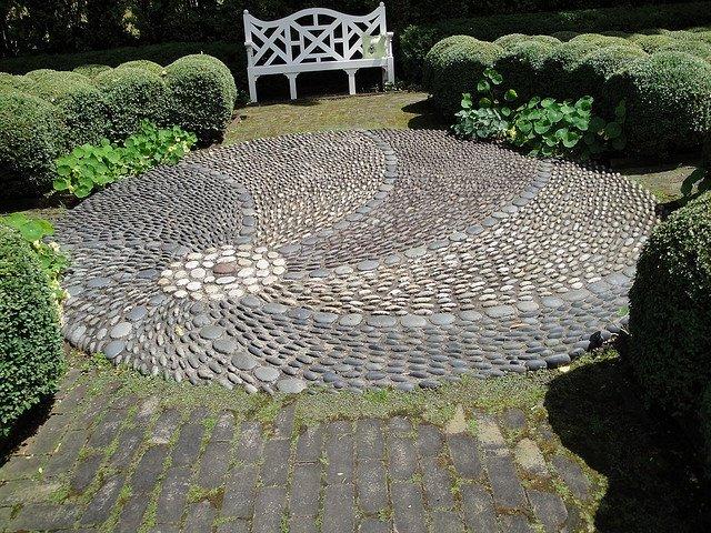 Jard n de piedras 30 fotos e ideas ecoraideas for Jardines campestres con piedras