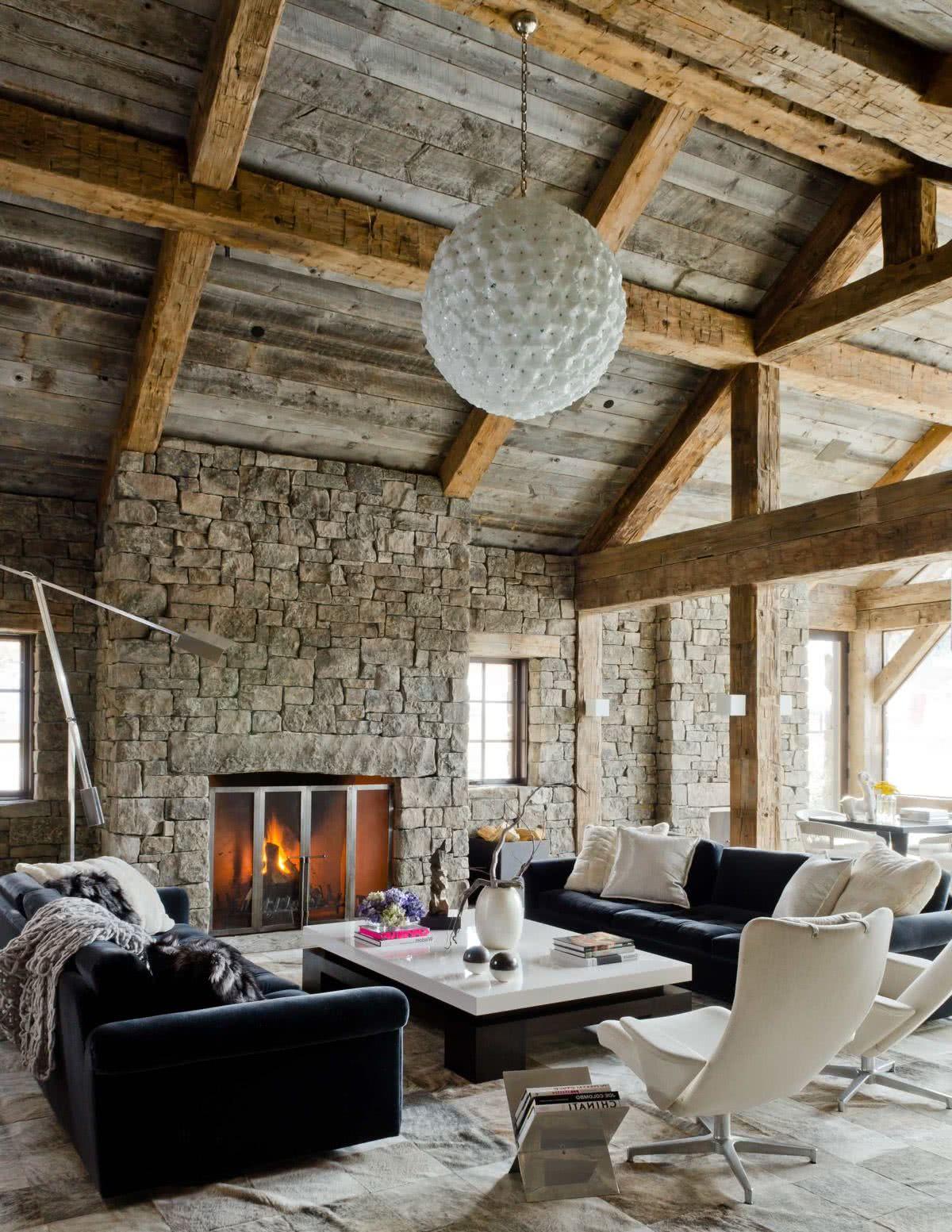 Planifique Sus Muebles Salon Rusticos Stock De Salon Diseño