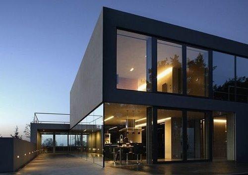 Casas minimalistas fotos de interiores y fachadas for Casa minimalista 4 5x15