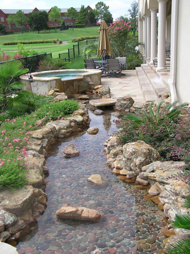 Jard n de piedras 30 im genes e ideas ecoraideas for Piedras de rio para jardin