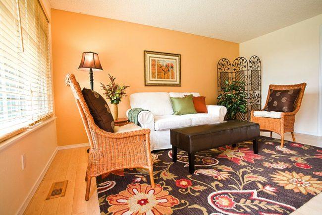 Color Naranja En Decoraci N Moderna Ecoraideas