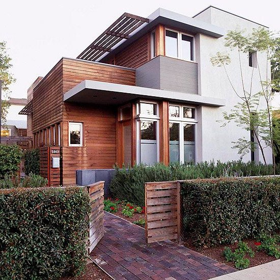 Colores para exteriores y fachadas de casas 2018 decora for Colores modernos para exteriores