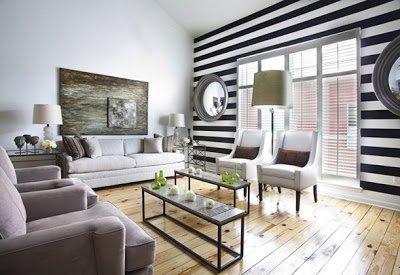 salón rayas horizontales