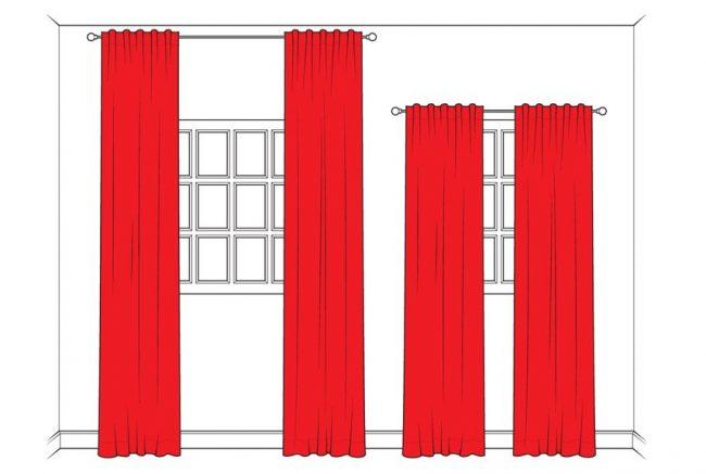 cortinas para espacios pequeños