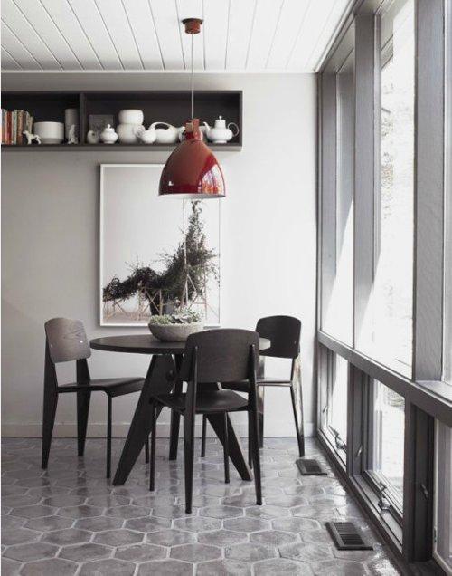 Comedores modernos 2017 de 130 fotos e ideas de decoraci n for Comedores redondos modernos