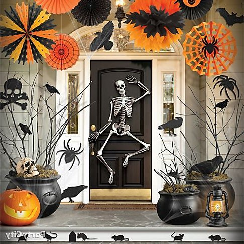 Decoraci n para halloween 2016 60 fotos e ideas baratas - Manualidades para decorar halloween ...