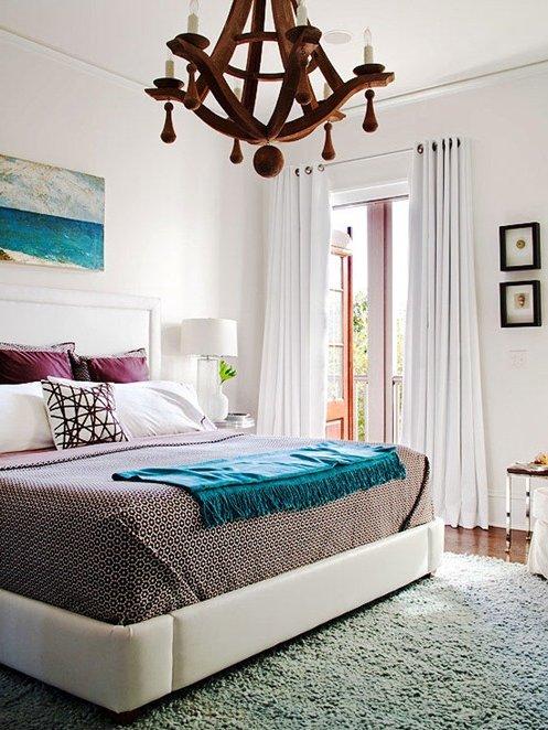 Cuadros decorativos 30 fotos y consejos decora ideas - Cuadros encima cabecero cama ...