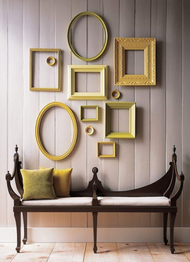 Cuadros decorativos 30 fotos y consejos decora ideas - Composicion cuadros pared ...