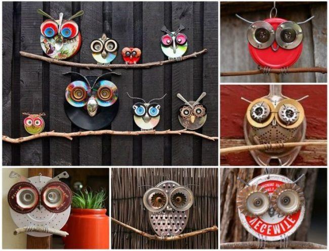 Manualidades con material reciclado para el hogar for Cosas decorativas para el hogar