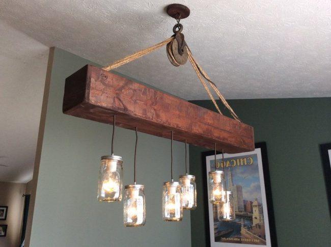 Casas r sticas 50 ideas y fotos de decoraci n ecoraideas for Lamparas cocinas rusticas