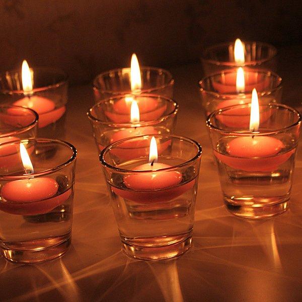 Adornos con velas decorativas decora ideas - Velas de adorno ...