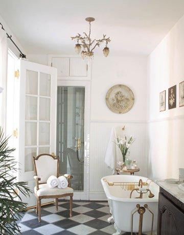 Decoraci n francesa 40 fotos e ideas for Platre decoracion frances