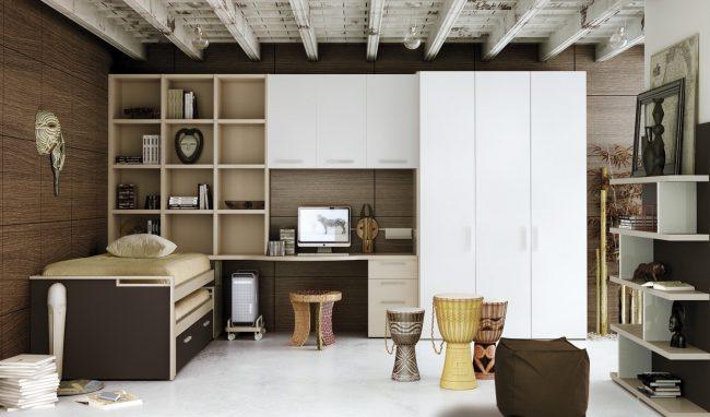 Dormitorios juveniles 40 fotos e ideas de decoraci n Amoblamientos juveniles