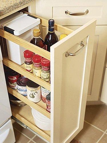 cajón de almacenamiento para la cocina