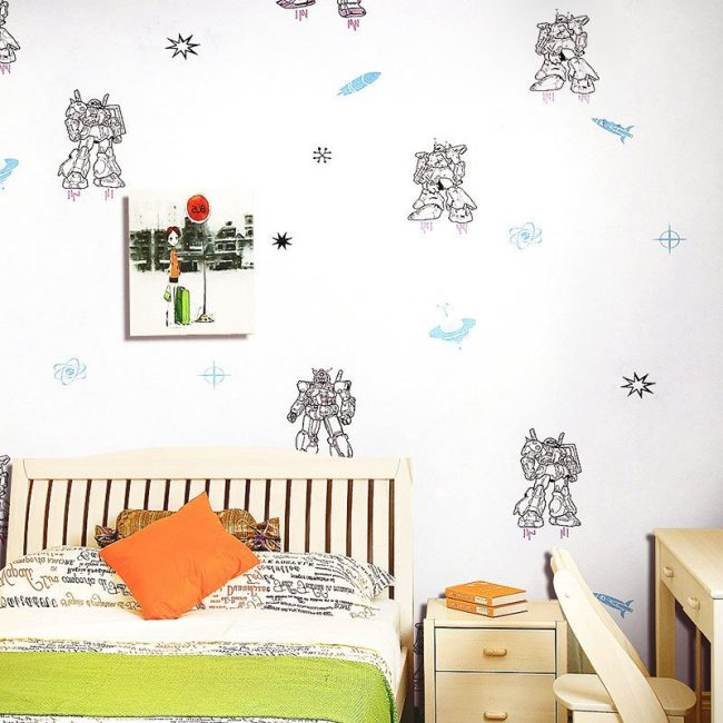 Vinilos para dormitorios infantiles vinilo dormitorio - Vinilos para dormitorios infantiles ...