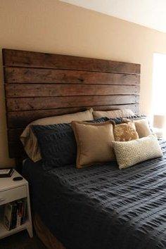 Cabeceros de cama modernos f ciles de hacer - Cabeceros de cama rusticos ...