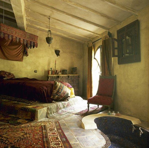 Decoraci n marroqu 100 ideas y fotos - Decoracion arabe dormitorio ...