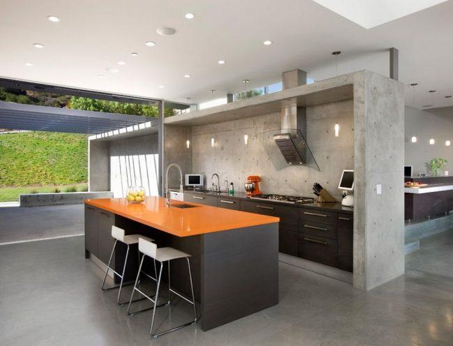 Cocinas de cemento 20 ideas y fotos ecoraideas for Cocinas para patios