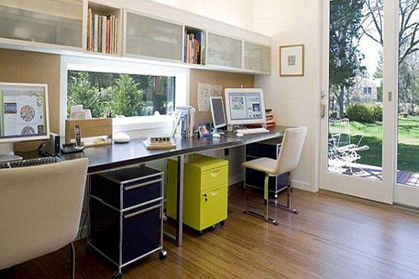 C mo decorar y ordenar una oficina ecoraideas for Dimensiones de un escritorio de oficina