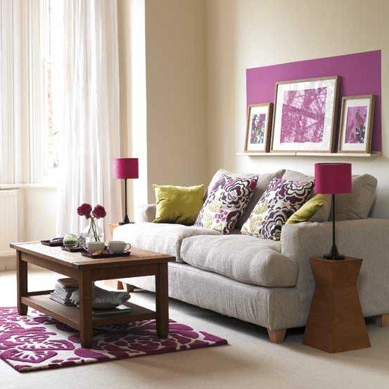 Dormitorios Con Acentos En Morado P�rpura Y Lila: Color Morado Para Decorar Salones, Dormitorios Y