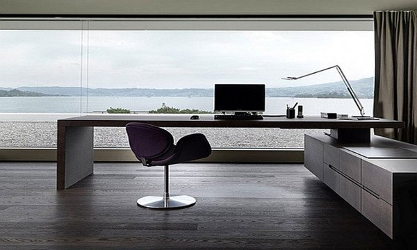 C mo decorar y ordenar una oficina ecoraideas for Oficinas elegantes y modernas