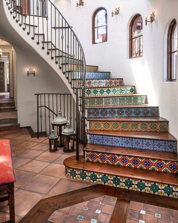 Escaleras modernas 50 fotos e ideas ecoraideas for Jaula de la escalera de color idea