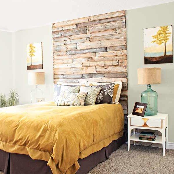 Cabeceros de cama modernos f ciles de hacer - Ideas para un cabecero de cama ...
