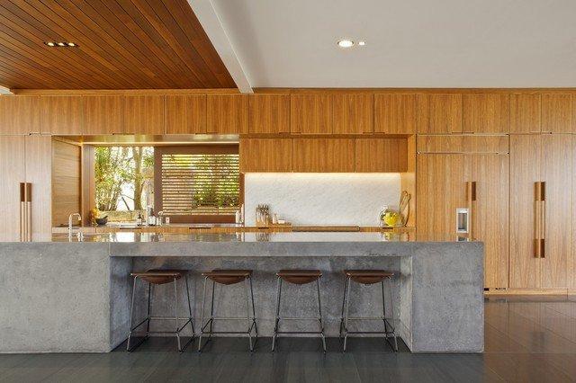 cocinas de cemento 20 ideas y fotos. Black Bedroom Furniture Sets. Home Design Ideas