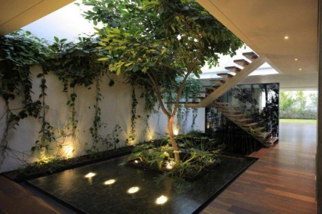 Jardines interiores modernos 25 fotos y consejos de dise o for Fotos de jardines de casas modernas