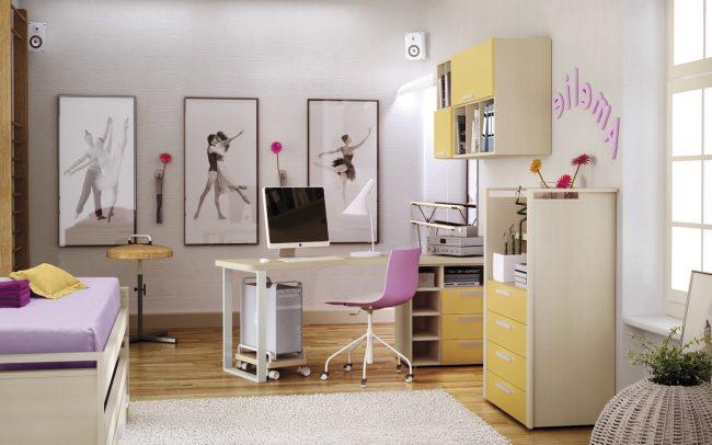 Dormitorios Juveniles 40 Fotos E Ideas De Decoracion Decoraideas - Como-decorar-un-cuarto-juvenil-femenino