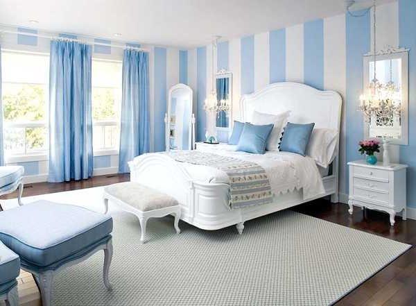 Colores que combinan con azul ecoraideas - Colores azules para paredes ...