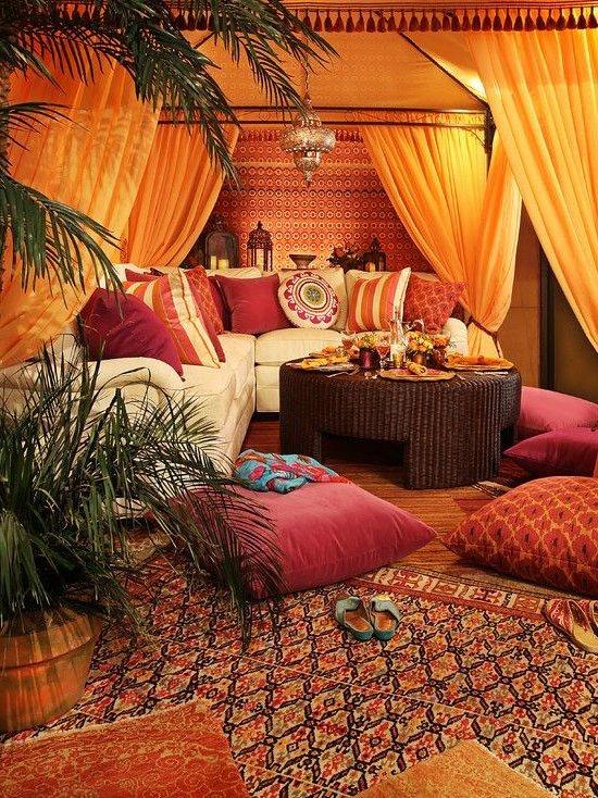 Decoración marroquí