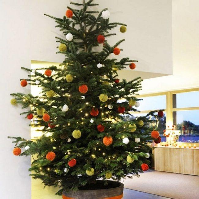 ideas originales en decoracin de rboles de navidad with decoracin arboles de navidad