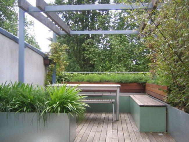 les dejaremos algunas fotos para que puedan ir tomando ideas y as disear su propia terraza verde