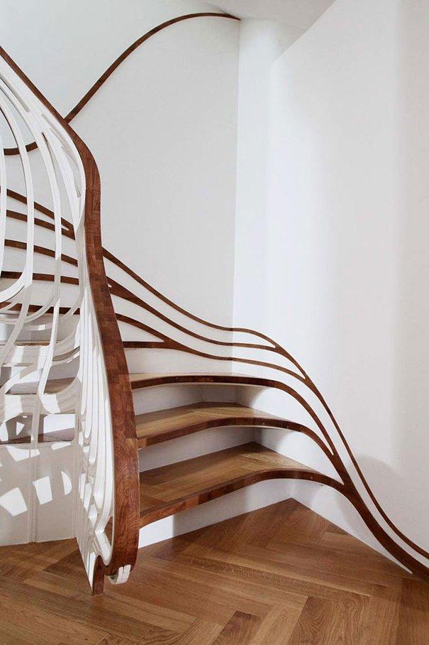 hasta pocos aos atrs las escaleras solan ser olvidados lugares del entorno domstico apenas retocadas con un poco de color pero hoy en da son un