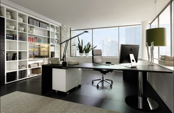 C mo decorar y ordenar una oficina ecoraideas for Fotos de oficinas modernas