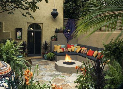 Decoraci n marroqu 100 ideas y fotos ecoraideas for Jardines con encanto fotos