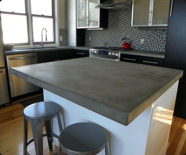 Cocinas de cemento 20 ideas y fotos for Cocinas sencillas y baratas