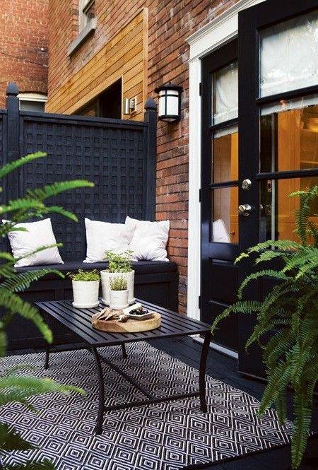 Terrazas peque as 60 fotos e ideas for Sofas para terrazas pequenas
