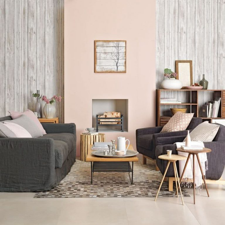 Color rosa decoración