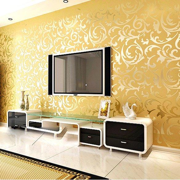 Papeles modernos para pared si quieres renovar la - Papeles pintados modernos ...