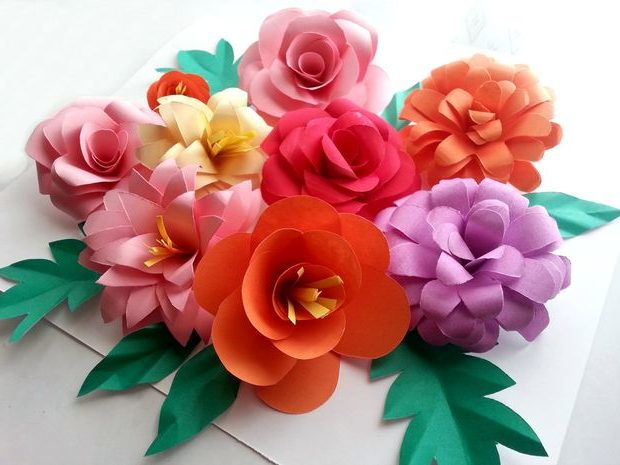 Cmo hacer flores de papel o tela ecoraIdeas