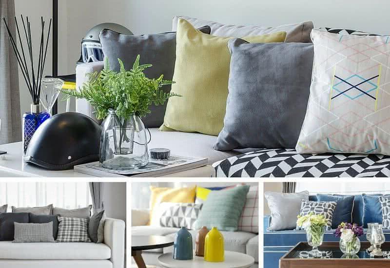 Cojines decorativos para salas