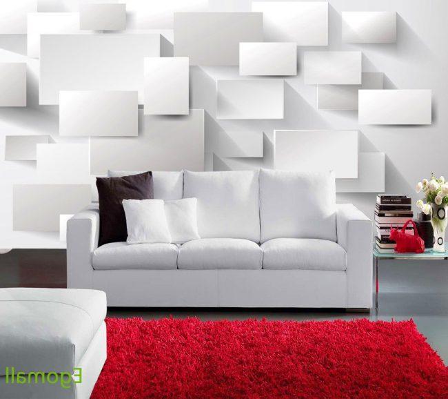 Papel tapiz para paredes 40 ideas e im genes ecoraideas - Papel vinilico para paredes ...