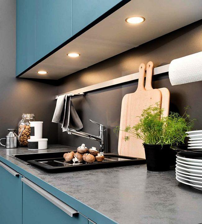Cocinas modernas 2018 150 fotos dise o y decoraci n - Luces para muebles de cocina ...